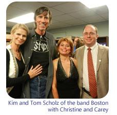 Tom Kim Christine and Carey