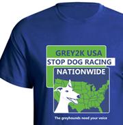 clasic stop greyhound racing shirt