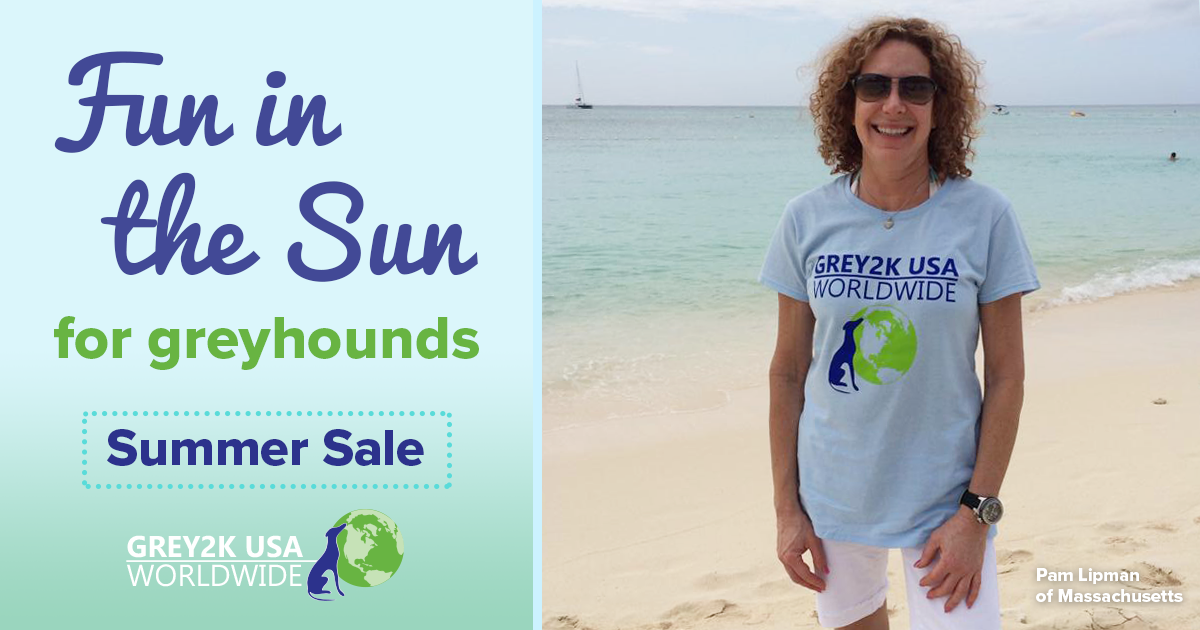 Fun in the Sun for greyhounds summer sale