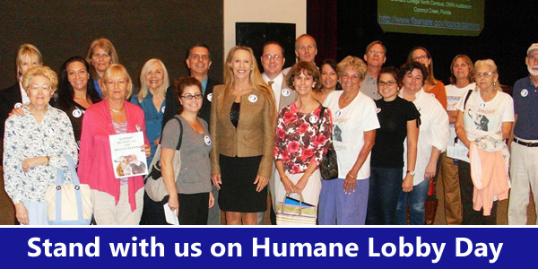 Stand with us on Humane Lobby Day