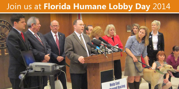 Join us at Florida Humane Lobby Day 2014