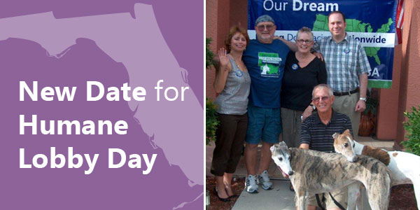 New Date for Humane Lobby Day