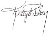 Kathy Pelton Signature