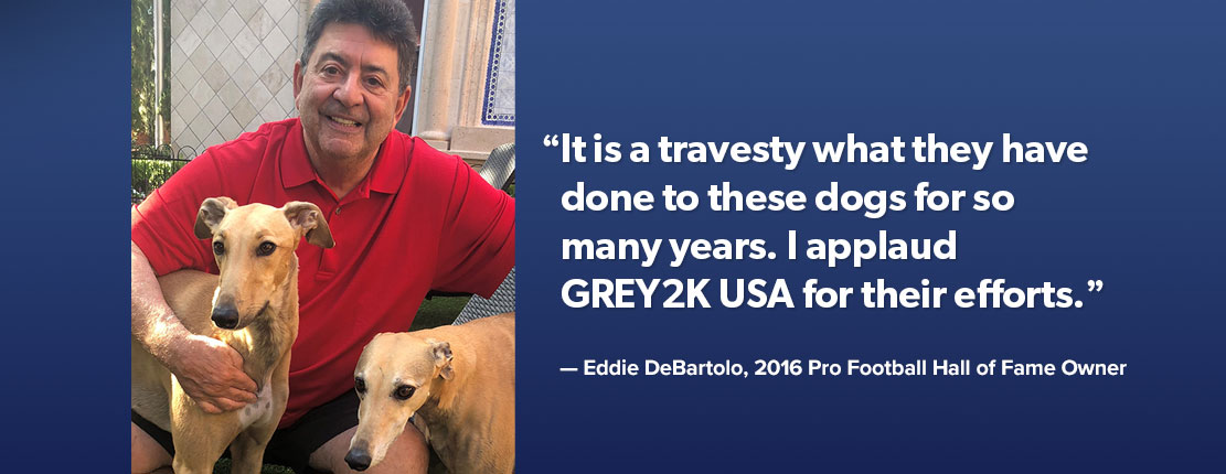 Eddie Debartolo testimonial for GREY2K USA Worldwide
