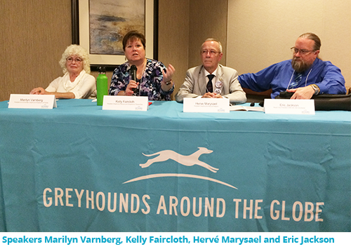 Greyhounds Around the Globe speakers