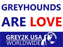 Greyhounds are Love