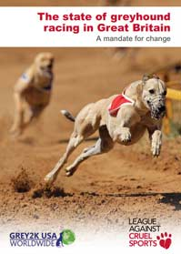 The state of greyhound racing in Great Britain: A mandate for change