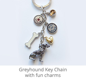 Key Chain with charms